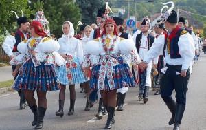 Slovácke slávnosti, Baťov kanál a vinobranie Strážnice