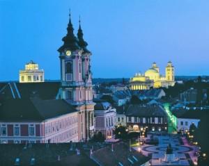 Eger - mesto kúpeľov a vína, Miskolc - história a jaskynné kúpele
