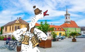 Burgenland - Slávnosti husí a vína, festival gaštanov